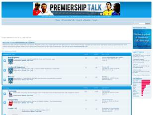 Premiership Talk Forum