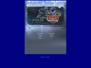 Professional Madden League