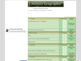 Profs Histoire Geographie