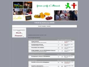 forum profs allemand