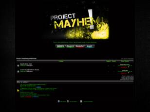 Project Mayhem guild forum