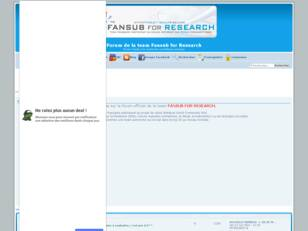 Team FANSUB FOR RESEARCH