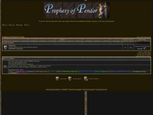 Prophesy of Pendor Dev Forum