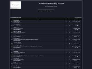 Free forum : Professional Wreslting Forums