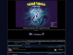 Foro gratis : Pokémon Reloaded The Legend Of Events