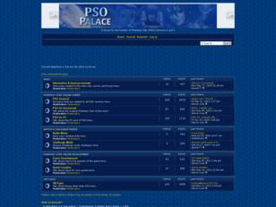 The PSO Palace Forum Index