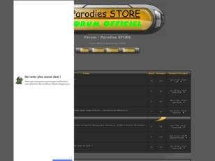 Forum - Parodies STORE