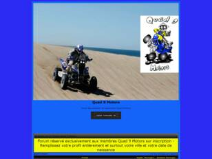 creer un forum : Quad 9 Motors
