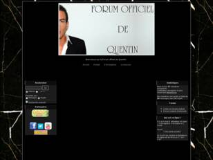 Quentin - Son Forum Officiel