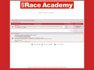 Race Academy Podium