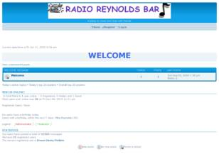 Free forum : Radio Reynolds Bar