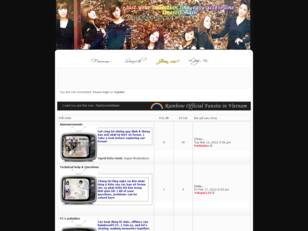 Rainbow Vietnamese Fansite | We love & support Rainbow