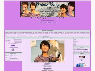 Rainie Yang Singapore Fan Club