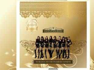 RaNia The First Vietnamese Fansite