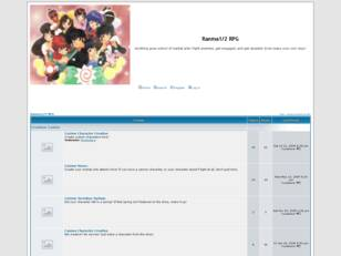 Free forum : Ranma1/2RPG