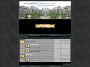 Forum gratuit : Ran University Online