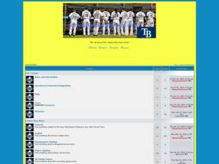 Tampa Bay Rays forum