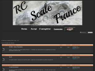 créer un forum : RC Scale france
