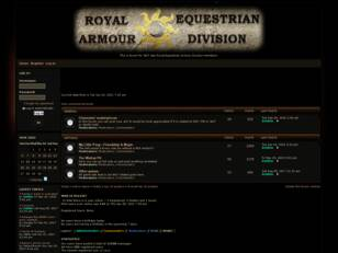 Free forum : Royal Equestrian Armored Division