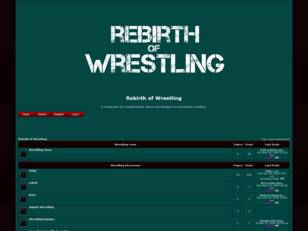 Rebirth of Wrestling
