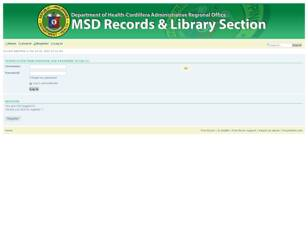 MSD Records and Library