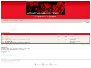 Redditch United FC supporter's Forum