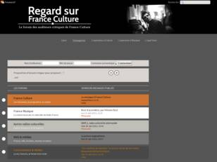 Regards sur France Culture, le forum des auditeurs critiques