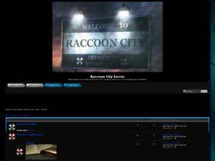 Raccoon City horror