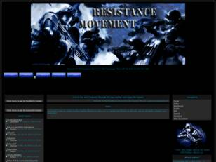 Resistance Movement Clan Homepage