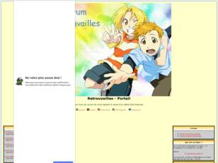 Forum gratis : creer un forum : Retrouvailles