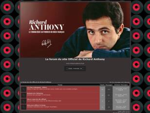 Richard Anthony  Le forum