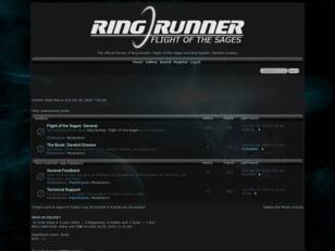 Ring Runner: Flight of the Sages Forums