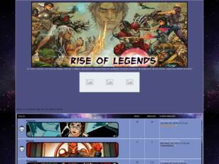 Rise of Legends - Foro de Rol de Marvel, DC Comics y Otras Editoriales