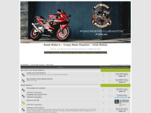 Road Rider's Club Motos