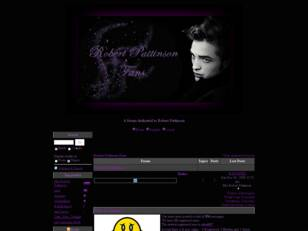 Free forum : Robert Pattinson Fans
