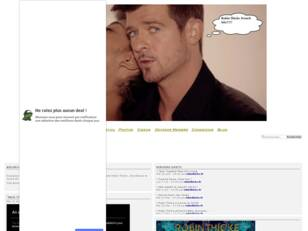 Forum gratuit : Robin Thicke French Site