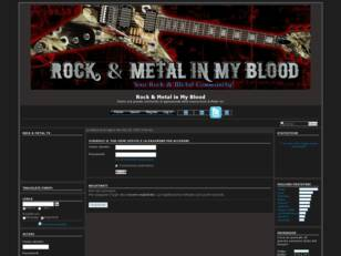 Rock & Metal in My Blood