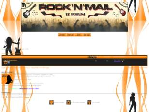 Forum Officiel de ROCK N MAIL