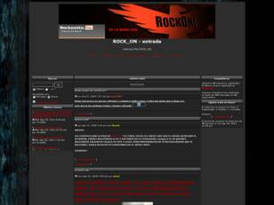 Foro gratis : ROCK_ON