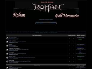 Foro gratis : Rohan Mercenaries Guild