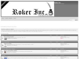 Roker Inc. Forums - A New Burden For The Masses