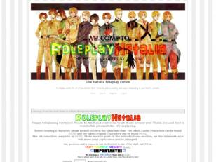 Free forum : The Hetalia Roleplay Forum