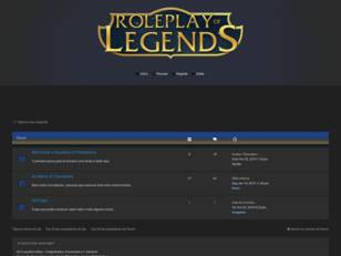 Roleplay of legends