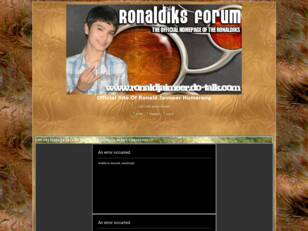 Ronald Jaimeer Forum