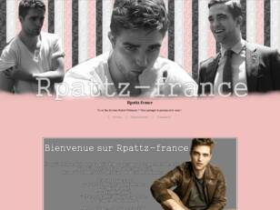 Forum source sur Robert Pattinson ♥