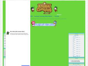 .: RPG - Animal Crossing Wild World :.
