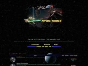 Forumactif.com : Forum RPG Star Wars - 200 ans plus tard