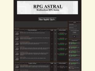 RPG Astral - Forum