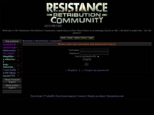 Resistance Retribution Community