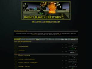 Robot Rage Survivors Forums